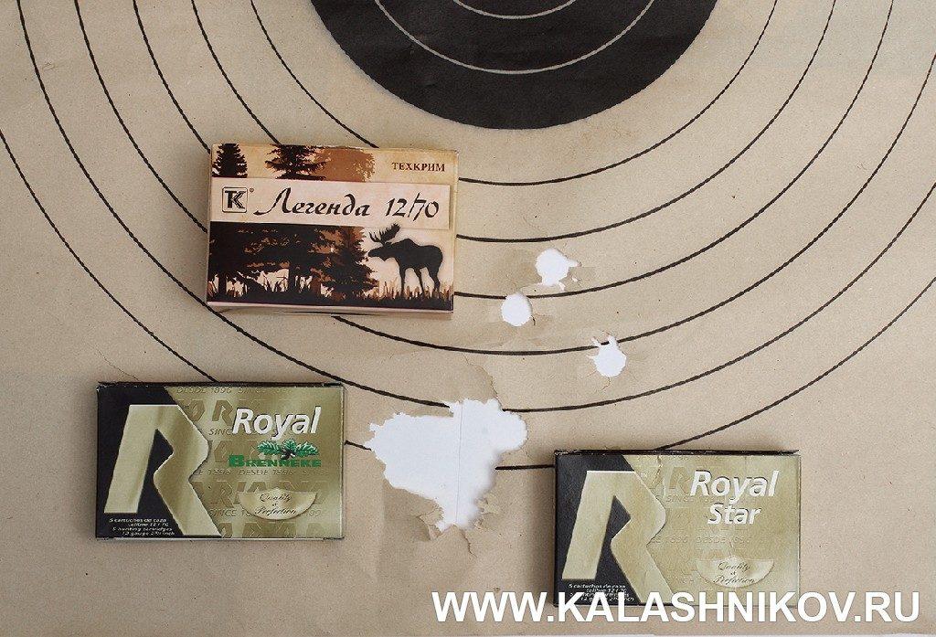 Kral M 155 Combo результаты стрельбы из пулевого ствола
