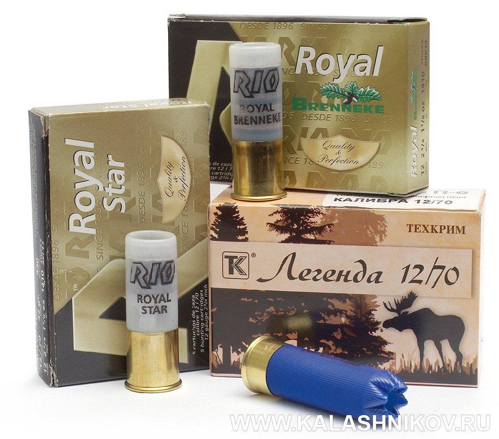 патроны для теста Kral M 155 Combo
