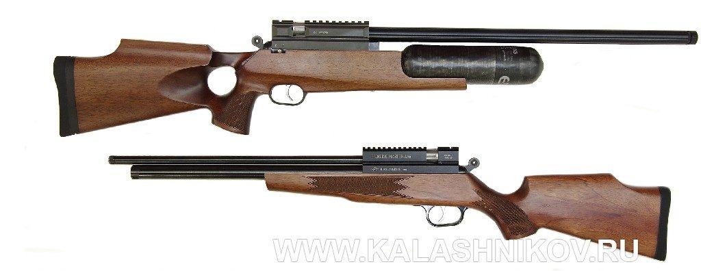 пневматические винтовки Meca EvanixК550 и Hunting Master AR6
