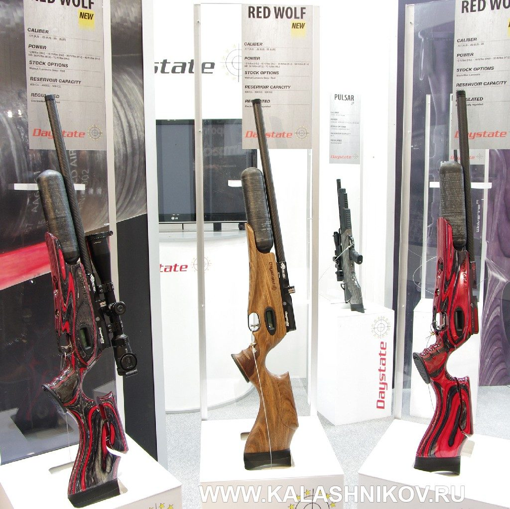 Пневматические винтовки Daystate Red Wolf