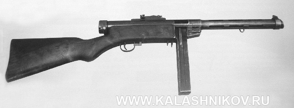 Пистолет-пулемёт Suomi М/31