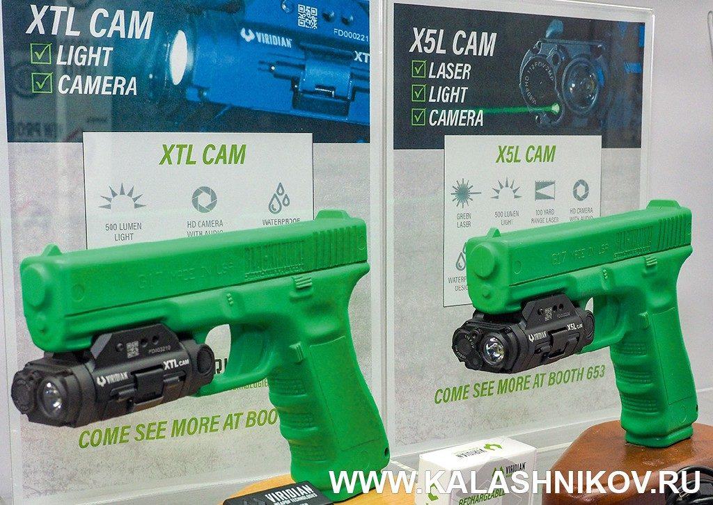 Пистолетный модуль сфонарём, лазерным целеуказателем ивидеорекордером. SHOT Show 2019