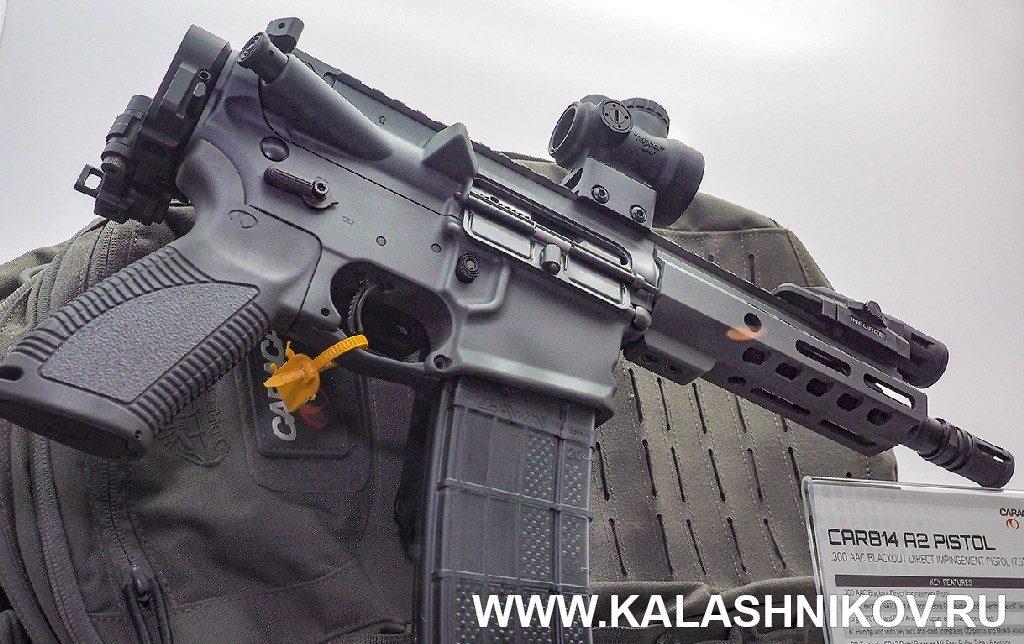 AR-образный карабин Carcal. SHOT Show 2019