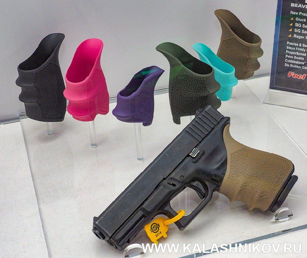Индивидуальная подгонка рукоятки пистолета. SHOT Show 2019