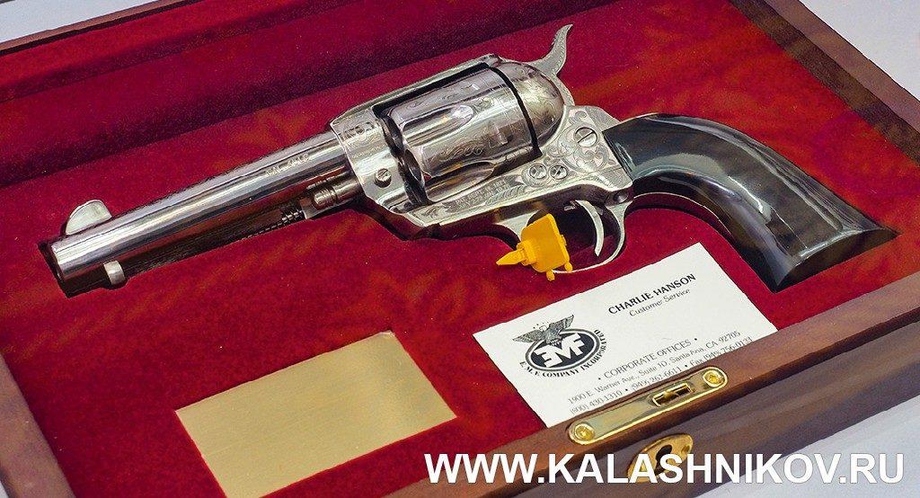 Классический американский револьвер. SHOT Show 2019