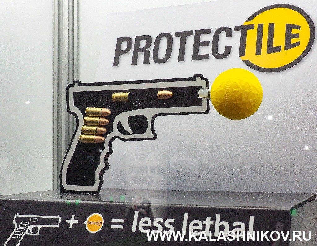 Пулеуловитель для нелетального оружия. SHOT Show 2019