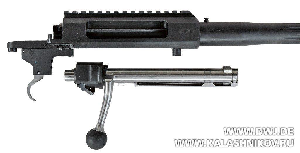 Ствольная коробка для однозарядной винтовки