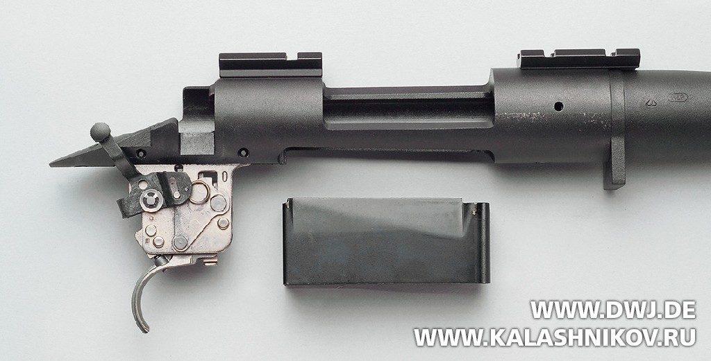 Ствольная коробка винтовки Remington 700.