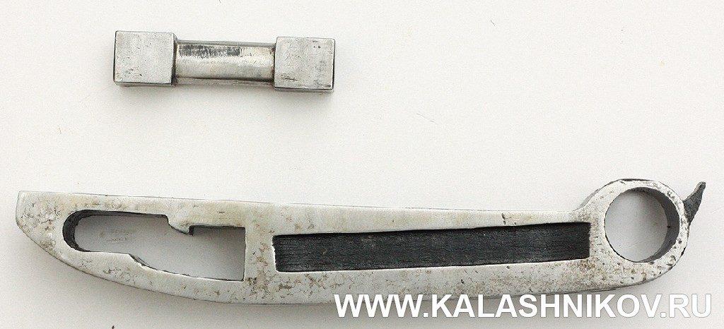 Опытный ручной пулемёт Калашникова. Детали запирающего механизма