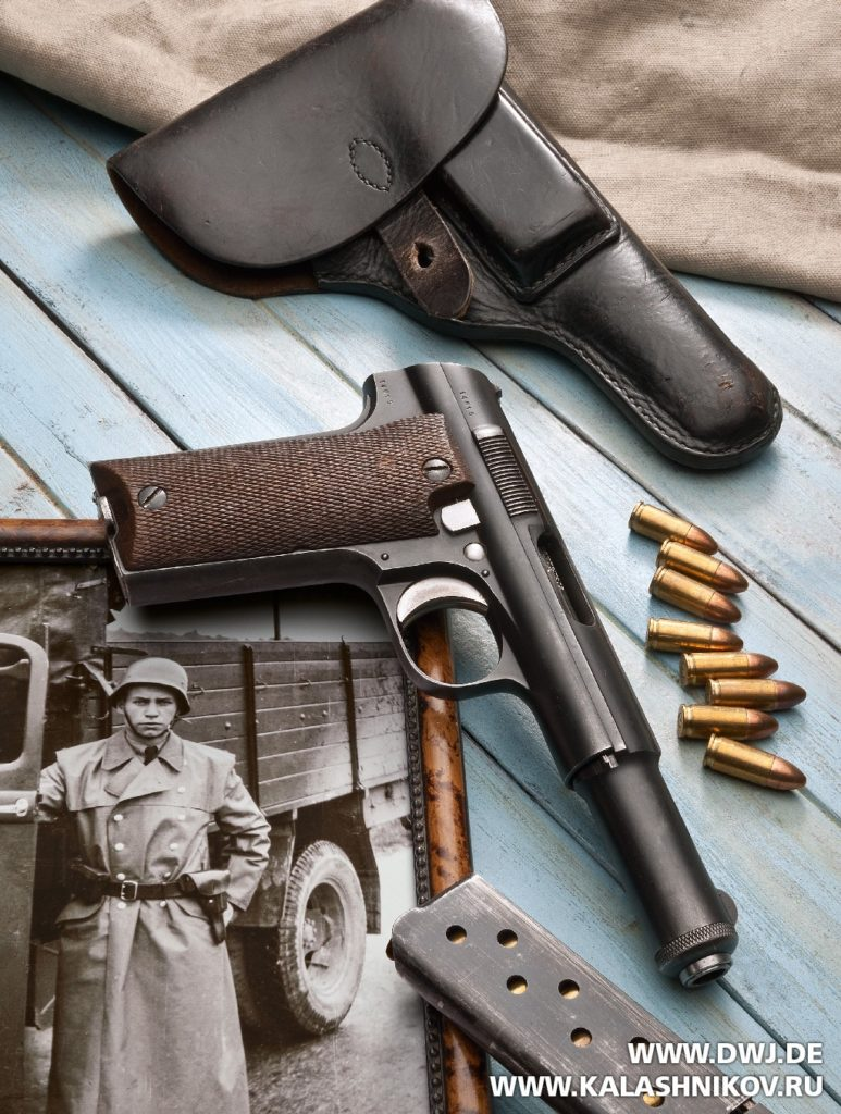Испанский пистолет Astra M 600/43