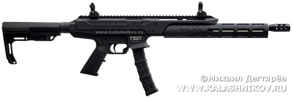 пистолет-карабин Kurbatov R-70, тюнинг, IPSC