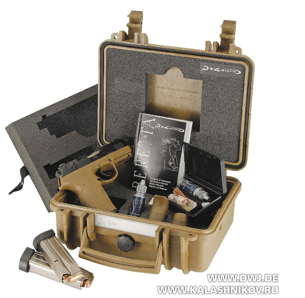 Кейс с пистолетом Beretta Px4 SD