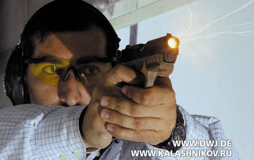 Стрельба из пистолета Beretta Px4 SD