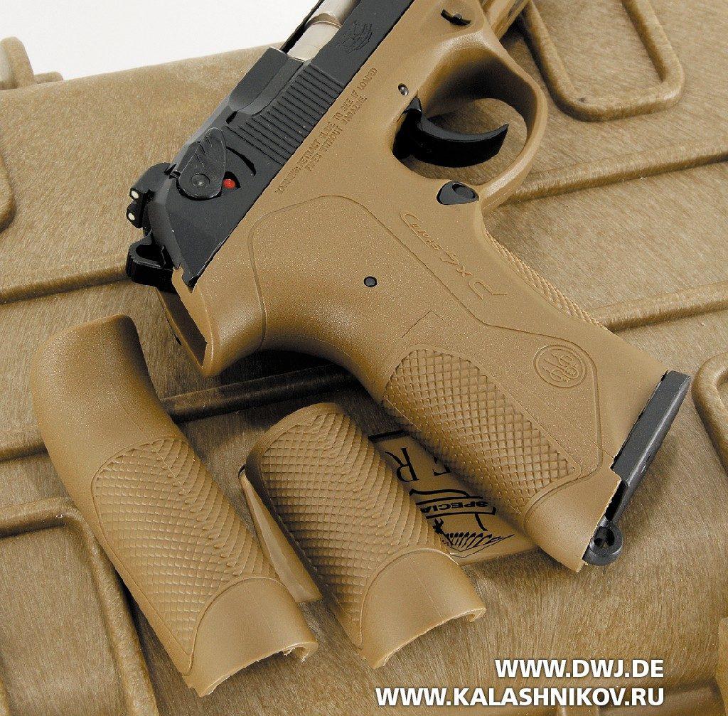 Спинки рукоятки пистолета Beretta Px4 SD