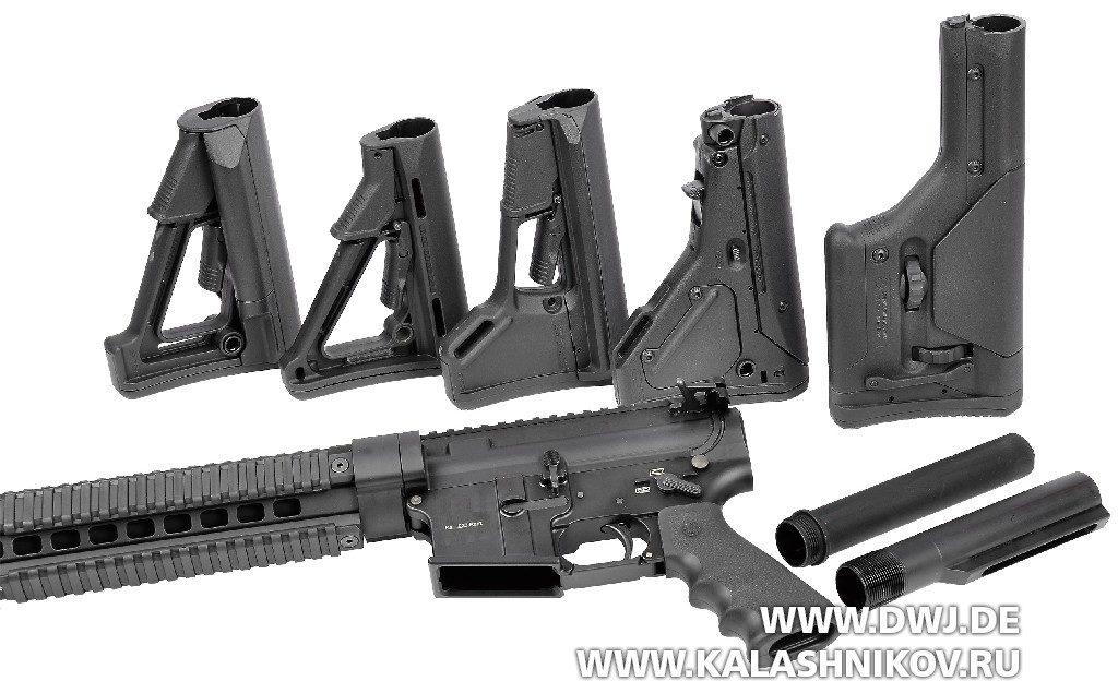 Приклады Magpul для AR-15