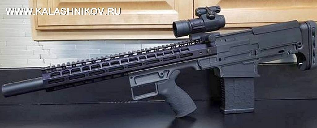 прототип FIMS Firerms Straight Pull .308 Bullpup Rifle