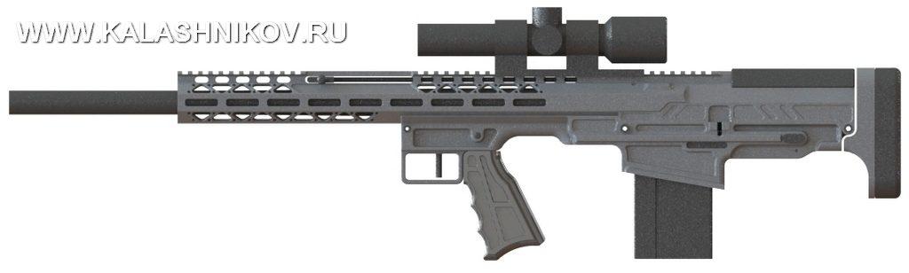 Прототип винтовки FIMS Firerms Straight Pull .308 Bullpup Rifle