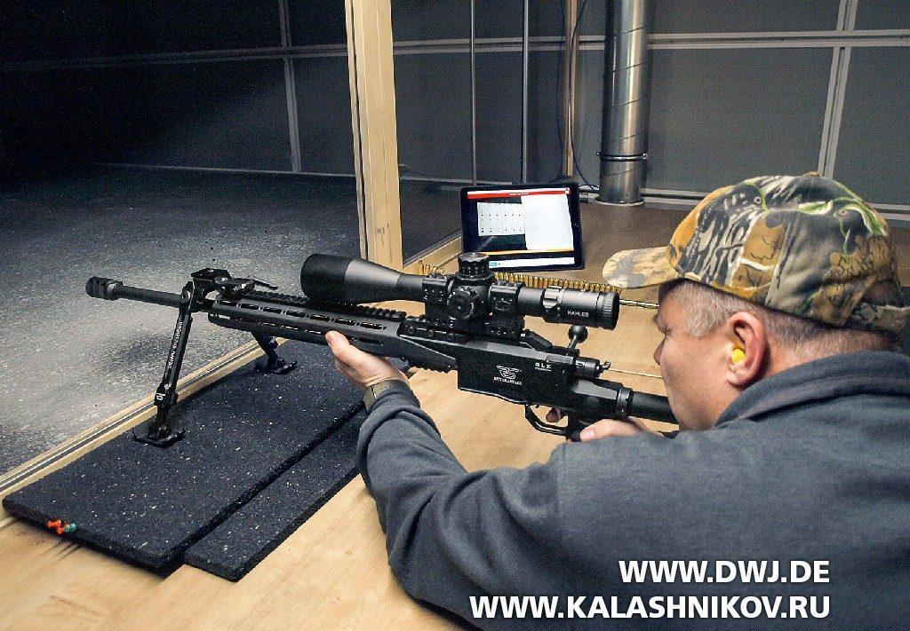 Стрельба в тире из винтовки Ritter &Stark SLX