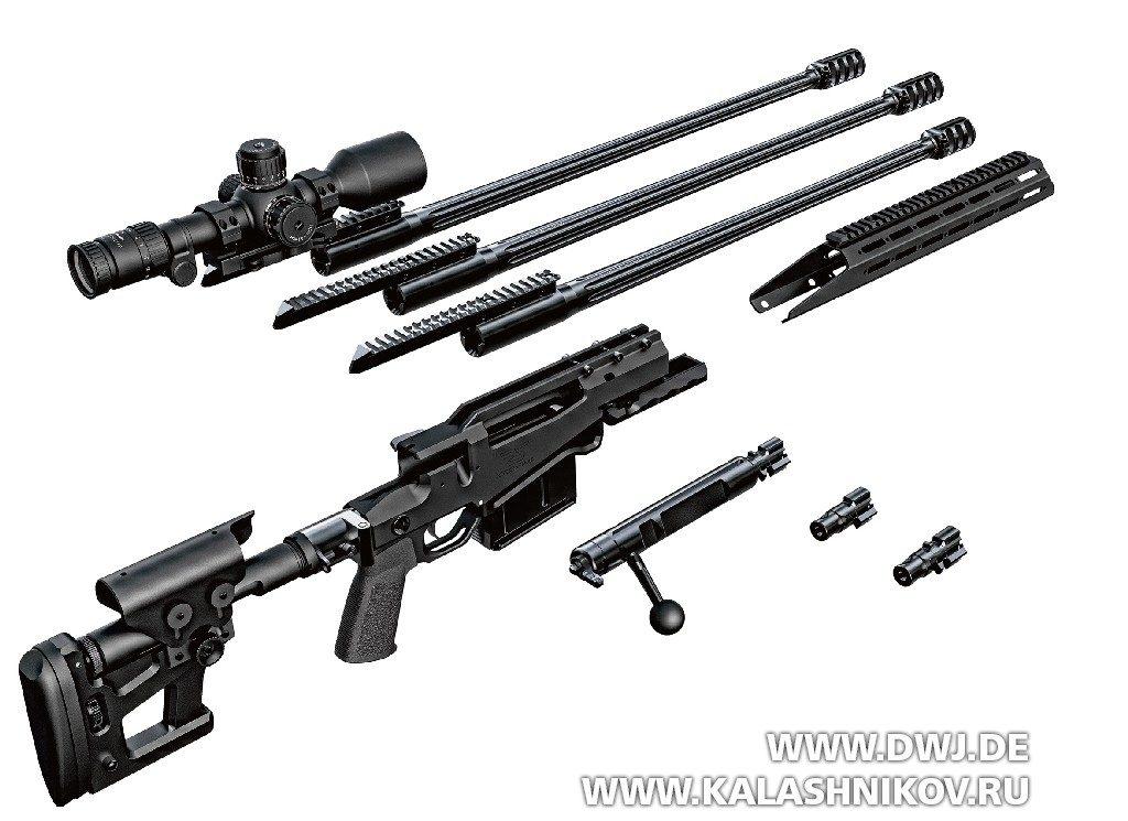 Взрыв-схема винтовки SX-1 отRitter & Stark