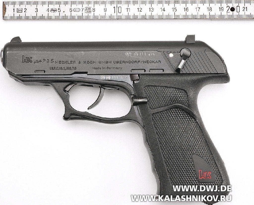 Клеймение пистолета H&K P9S