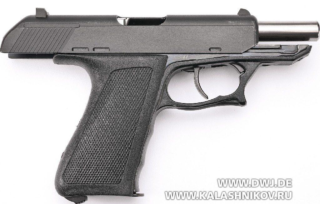 Пистолет Heckler &Koch P9S на затворной задержке