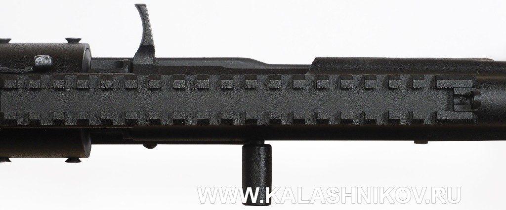 Карабин «Вепрь» ВПО-155-20 калибра .223Rem. Рукоятки взведения затворной рамы
