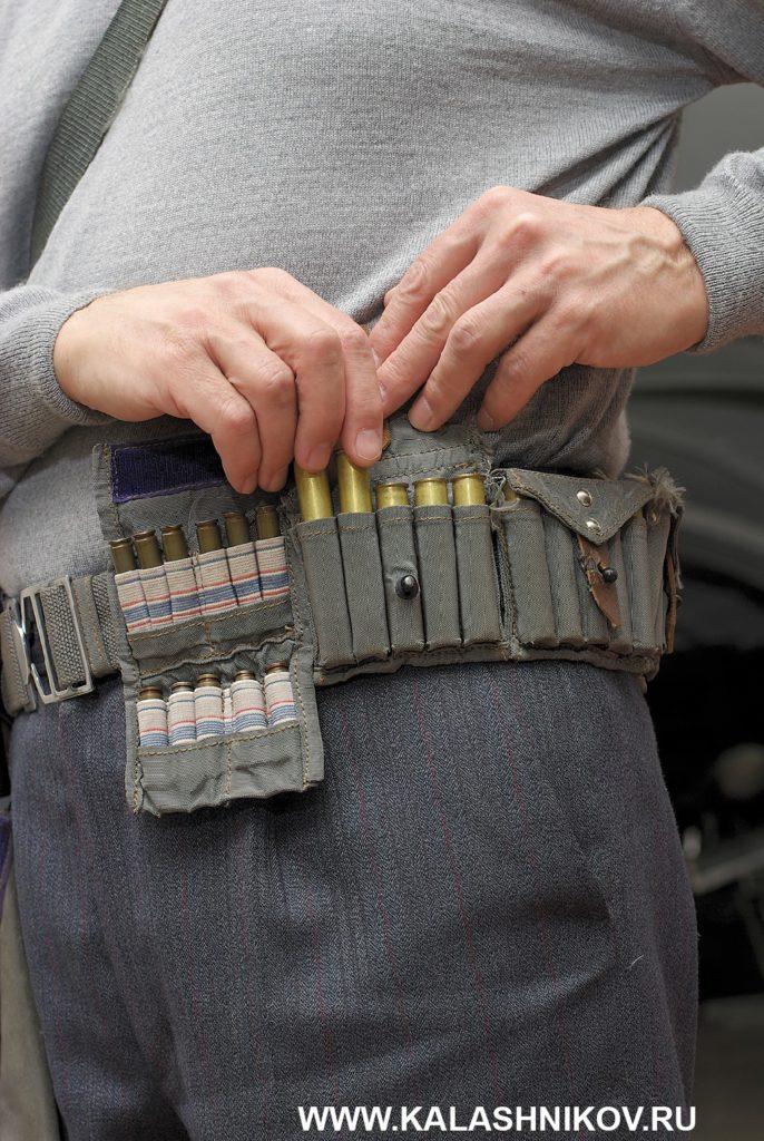 Пистолет ТП-82. Портупея и подсумок для патронов