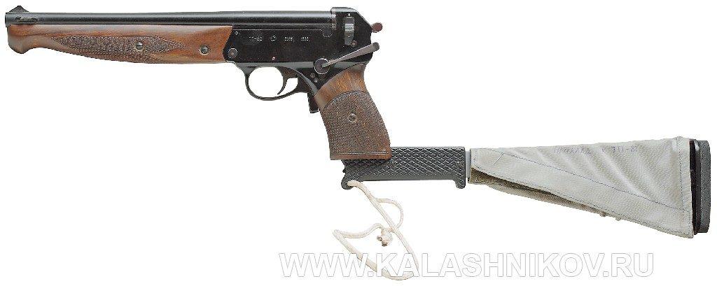 Пистолет ТП-82 с прикладом