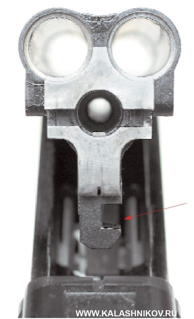 Вариант ТП-82. Запирающая планка
