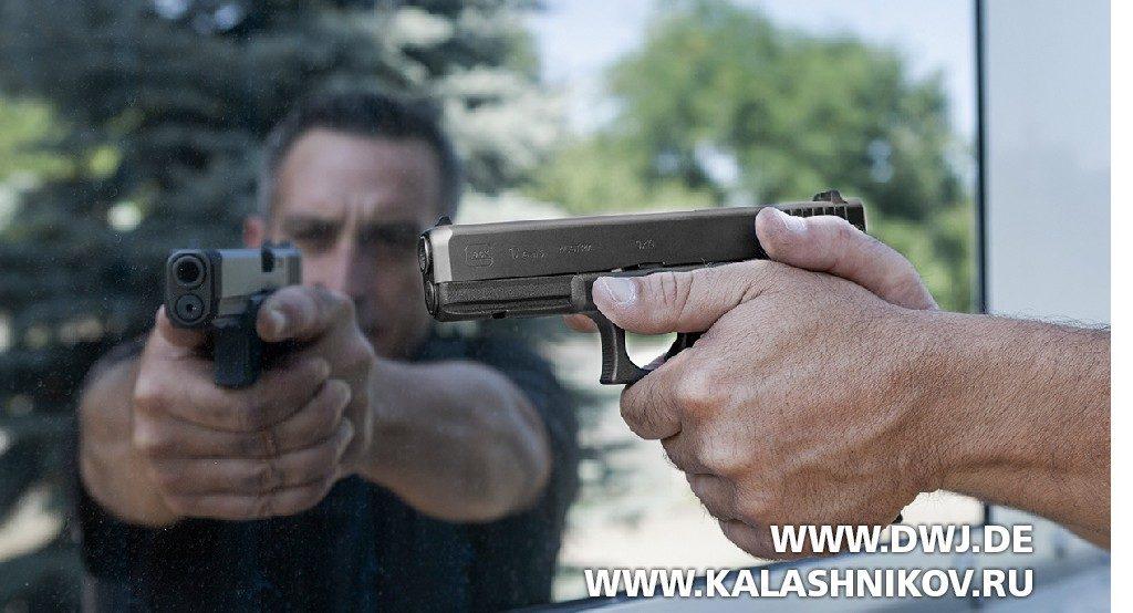 Пистолет Glock IPCS