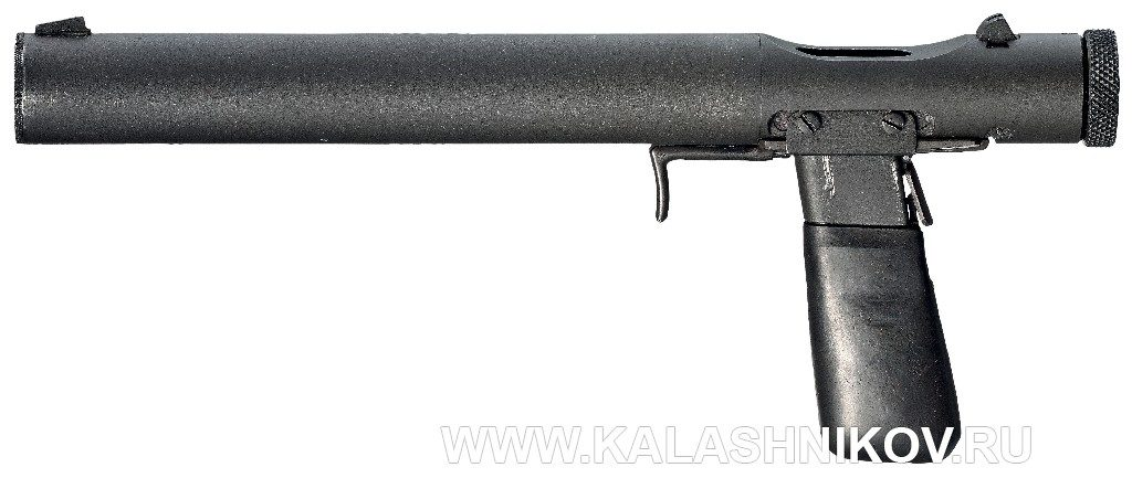 Пистолет Welrod Mk. IIa