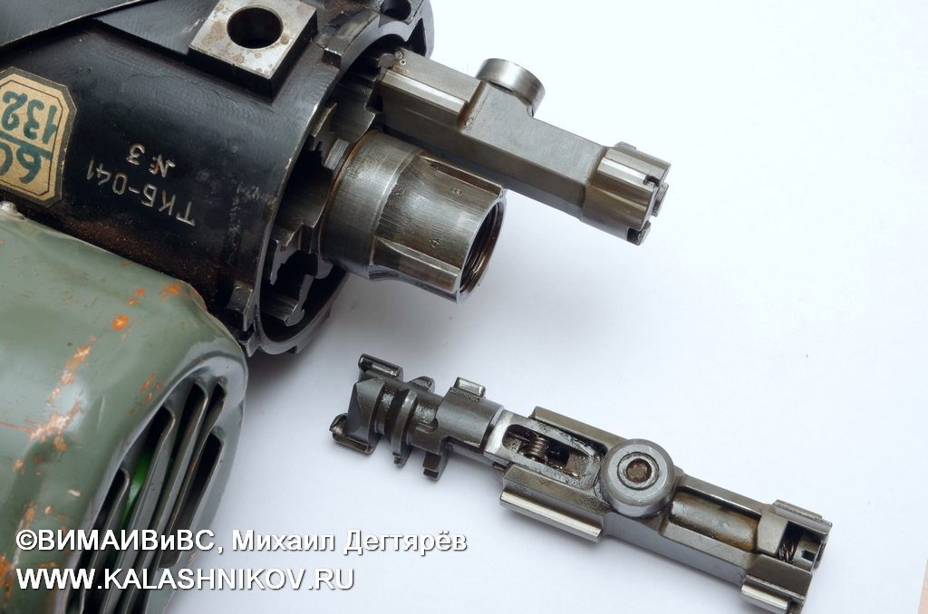 затворы ТКБ-041 № 3, электромотор, шквальный пулемёт, minigun