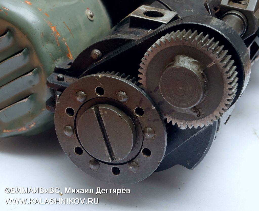 Привод подающего механизма ТКБ-041 № 3, шквальный пулемёт, minigun