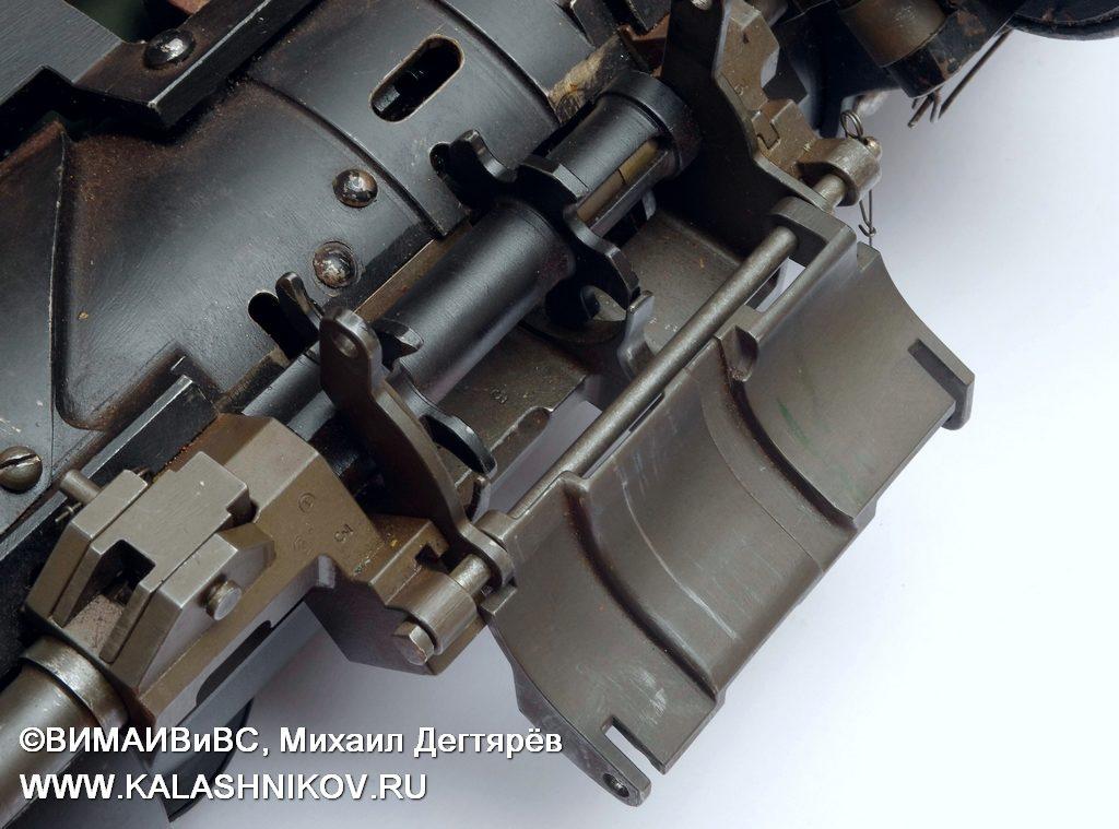 подающий механизм ТКБ-041 № 3, миниган, пулемёт ярцева, minigun