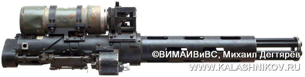 ТКБ-041 № 3, соленоид, шквальный пулемёт, миниган, пулемёт ярцева, minigun