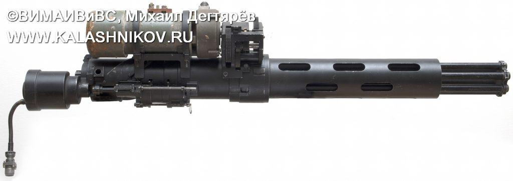 ТКБ-041 № 2, пулемёт шквального огня, миниган, пулемёт ярцева, minigun