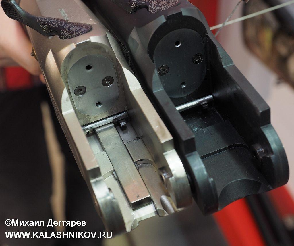 Kral Arms ST500, Kral Arms Volt-500, затворные коробки, планка взведения