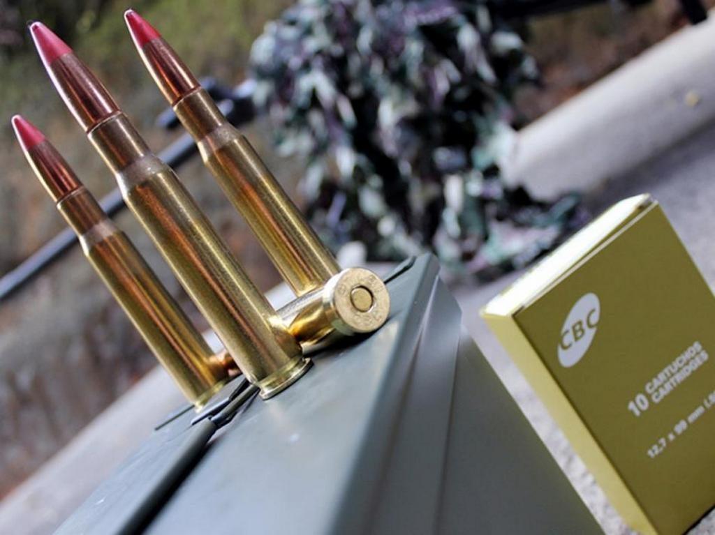 CBC, 12,7х99, .50 BMG, ammunition