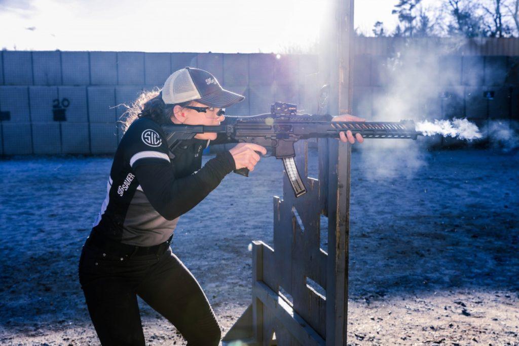 Лена Микулек, пистолет-карабин SIG MPX PCC, ipsc