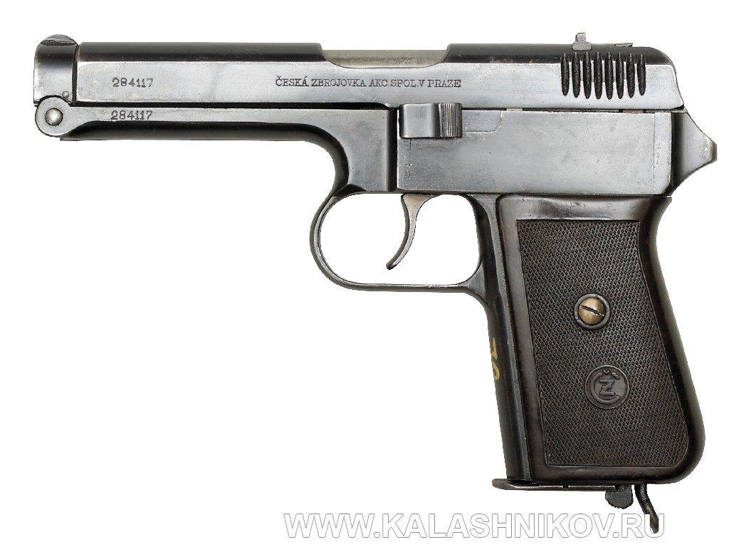 пистолет  CZ 38