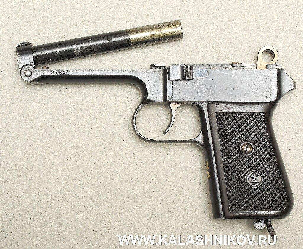 9-мм пистолет CZ 38. Фото 3