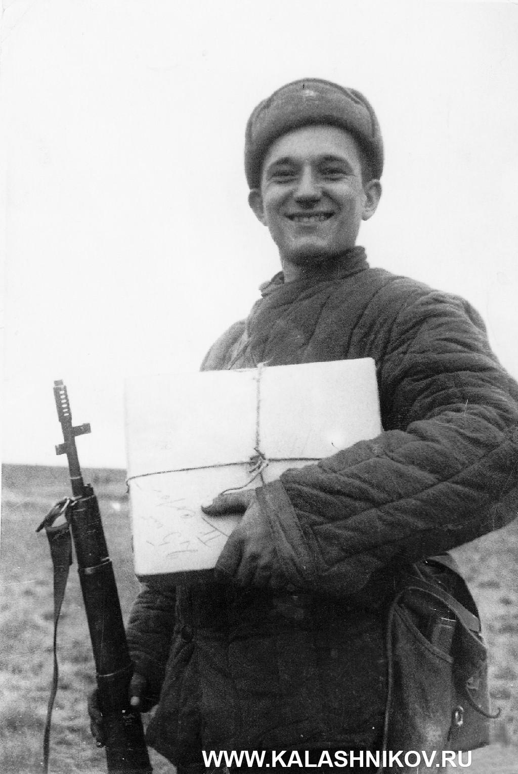 Разведчик комсомолец Е. Е.Котельников