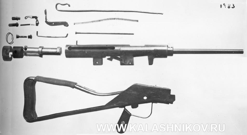 Полная разборка пистолета-пулемёта Зайцева первой модели
