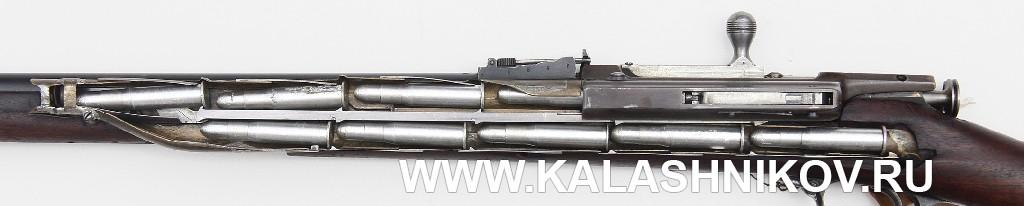 Магазин 4,2-лин. магазинной переделочной винтовки конструкции Бердана-Игнатовича 1884г.