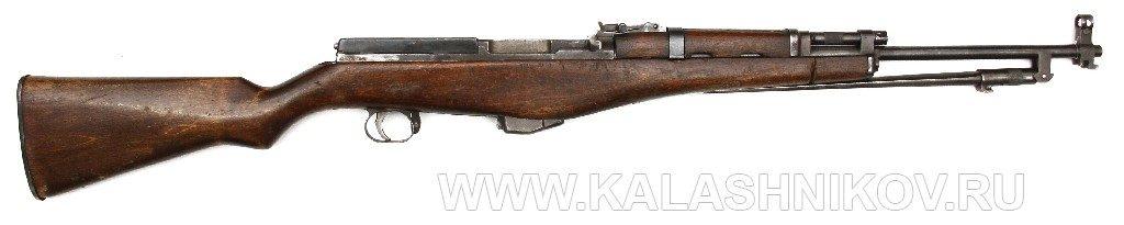 самозарядный карабин Калашникова и Петрова (ССКП)