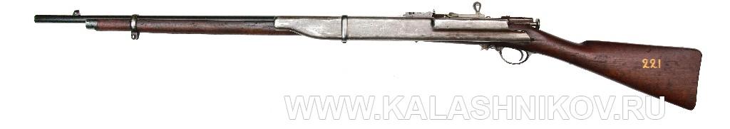 4,2-лин. магазинная переделочная винтовка конструкции Бердана-Игнатовича модели 1884г.