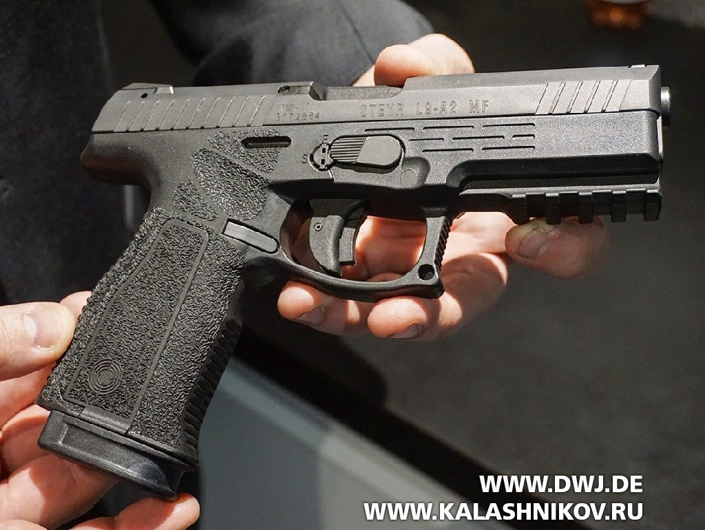 пистолет Steyr L9-A2 MF  SHOT Show 2019