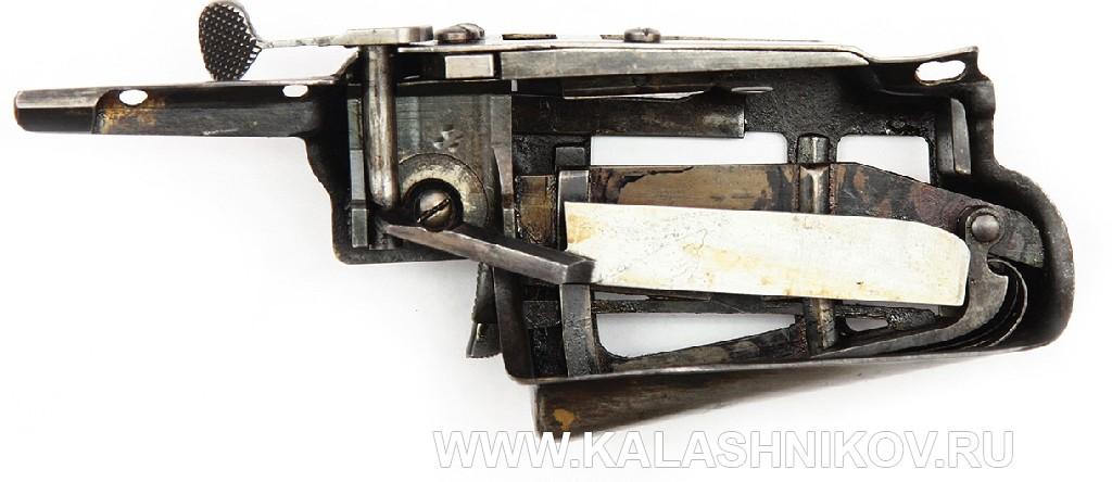 4,2-лин. магазинная переделочная винтовка конструкции Бердана-Игнатовича 1886г. Магазин на восемь патронов. Поджимная пружина отключена