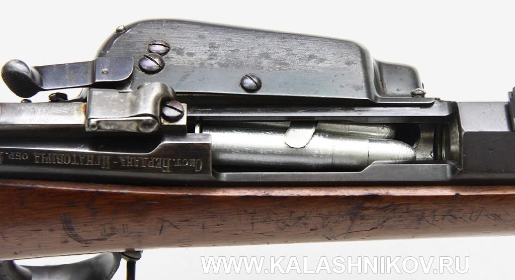 4,2-лин. магазинная переделочная винтовка конструкции Бердана-Игнатовича 1886г. Ствольная коробка