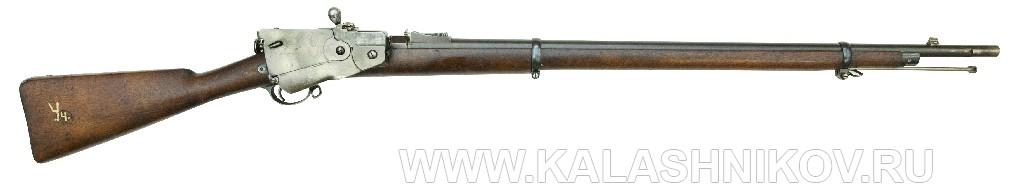 4,2-лин. магазинная переделочная винтовка с ускорителем заряжания Вельтищева конструкции Бердана-Игнатовича 1886г.